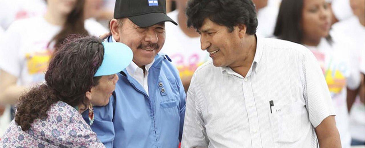 Comandante Daniel y compañera Rosario envían mensaje a Evo Morales en celebración del 13 Aniversario de la Revolución en Bolivia