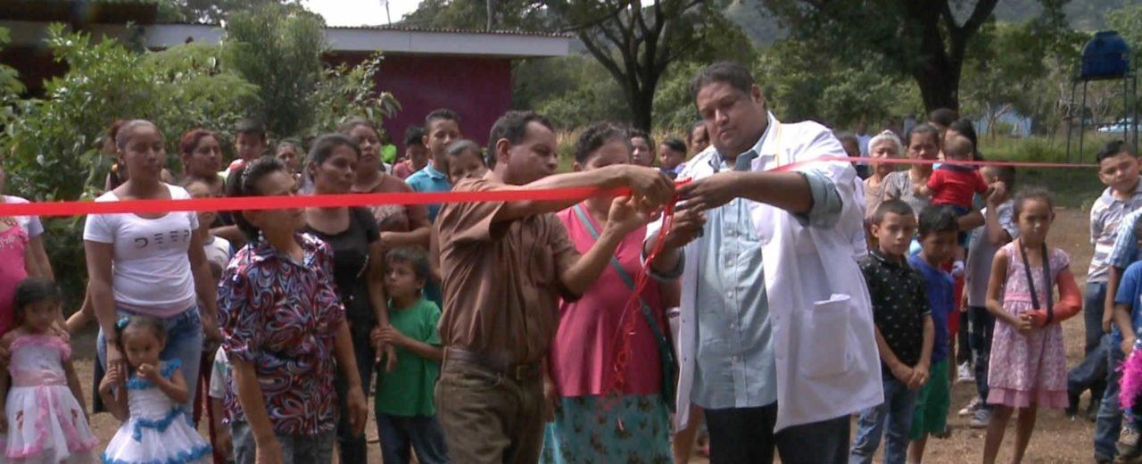 Servicio de salud es palpable para familias de San Ándres de la Palanca con rehabilitación del SILAIS