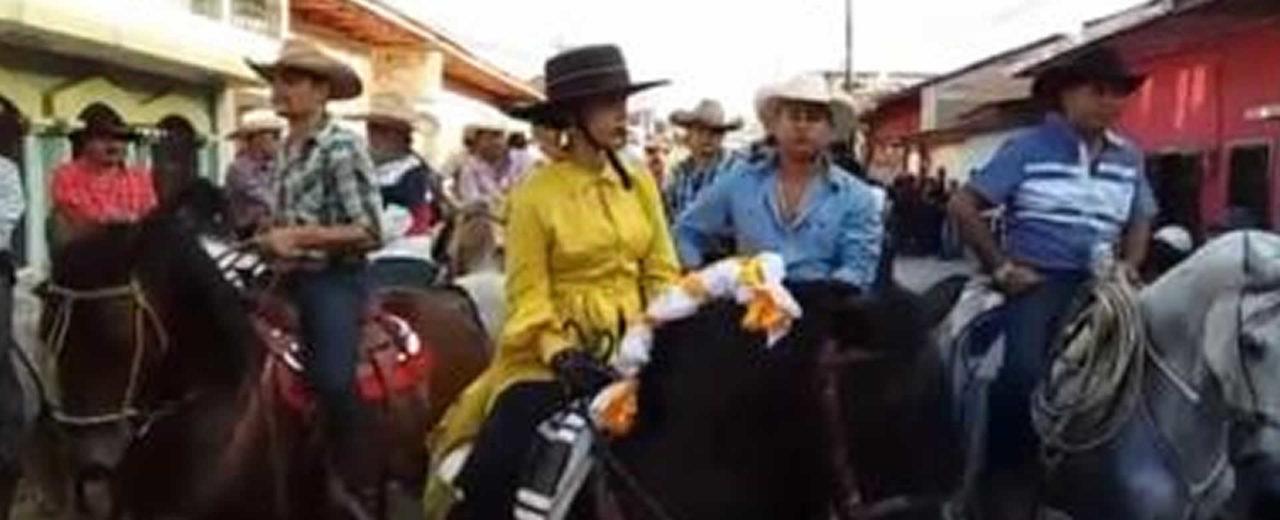Acoyapa realiza desfile hípico en honor a San Sebastián