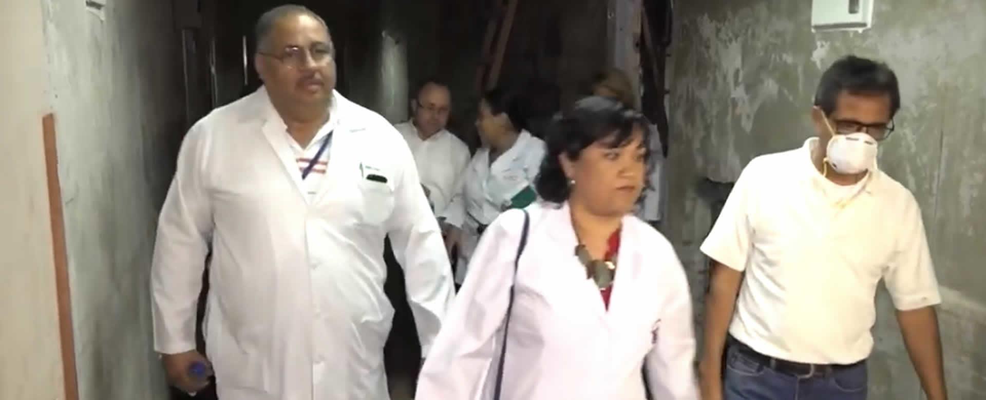 Inicia remodelación del área quirúrgica en el Hospital Antonio Lenin Fonseca