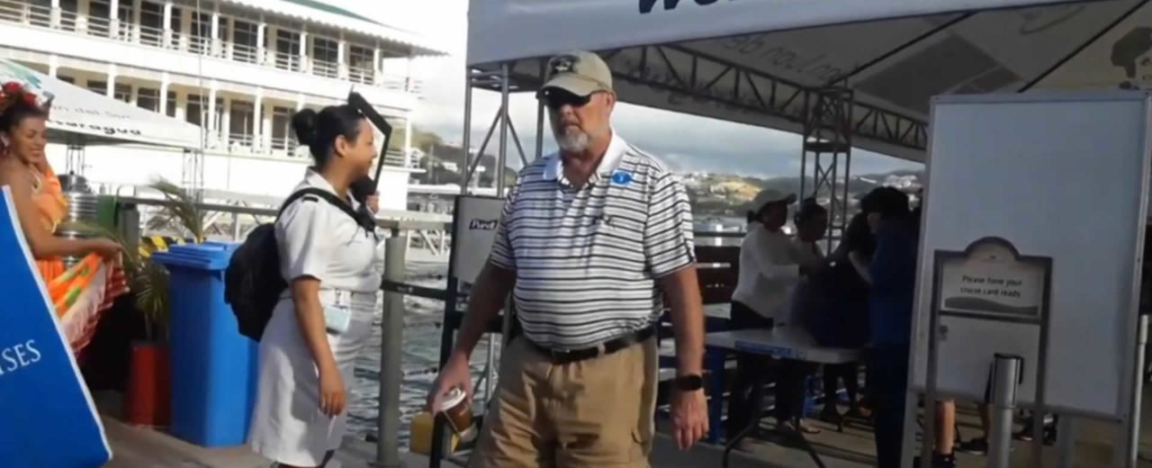 San Juan del Sur recibe a turistas del Crucero Coral Princess