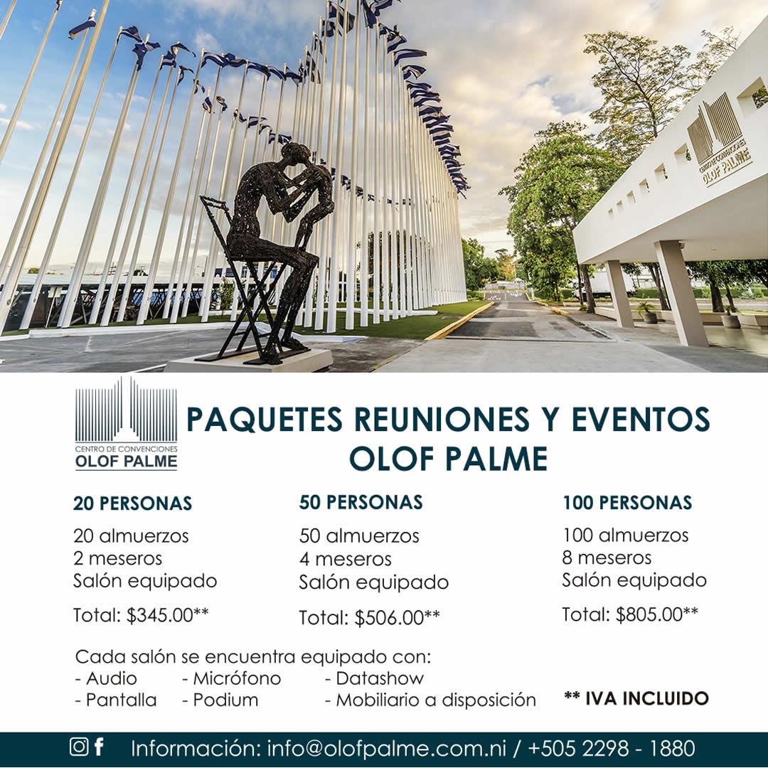 Olof Palme: Paquetes para reuniones