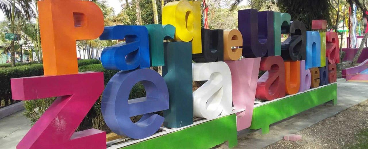 Familias de San Rafael del Norte reinauguran el Parque Urania Zelaya Ubeda