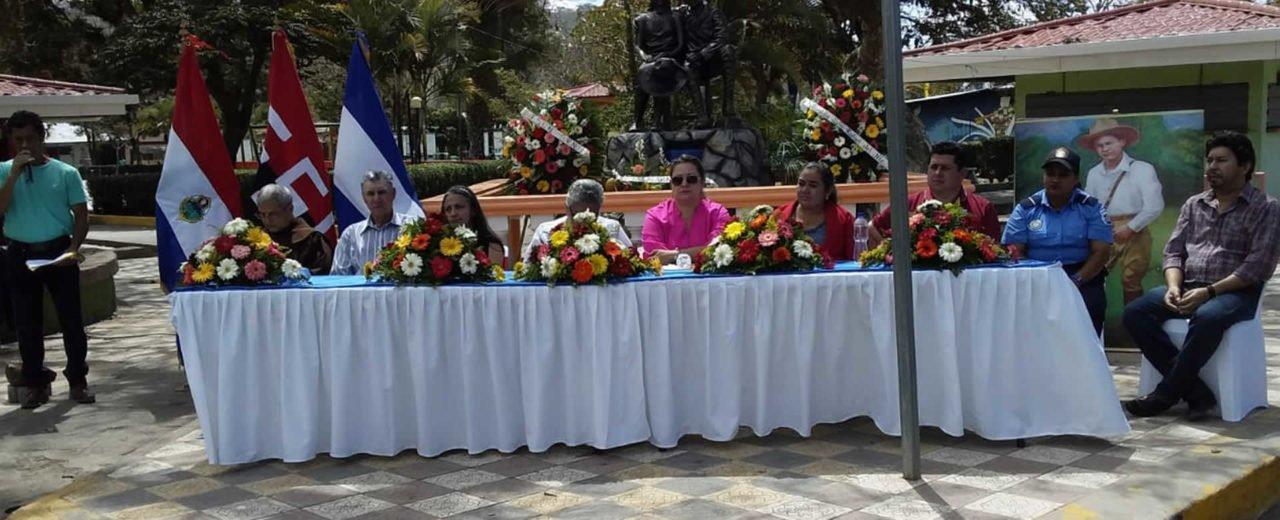 Jinotega realiza el lanzamiento de la Ruta de Sandino
