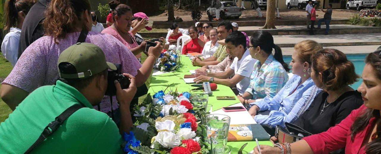 Autoridades participan del relanzamiento del centro turístico San José, Chontales