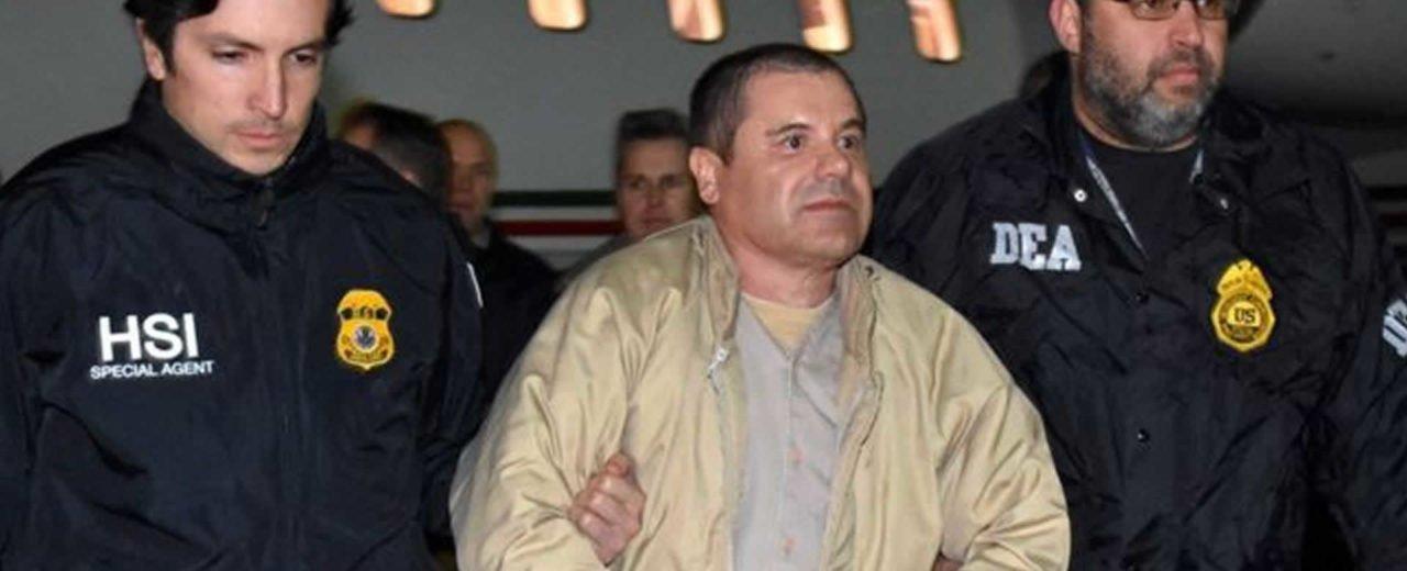 """Joaquín """"El Chapo"""" Guzmán podría pasar el resto de su vida en  una prisión de máxima seguridad"""