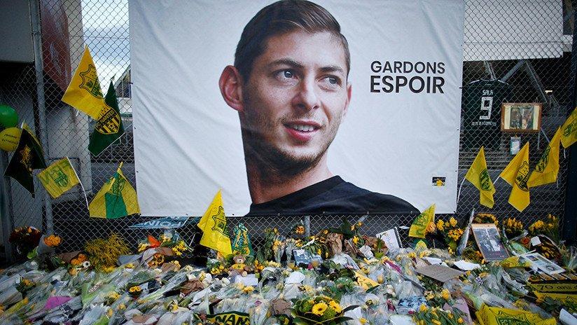 Autoridades inglesas identifican el cuerpo del futbolista argentino