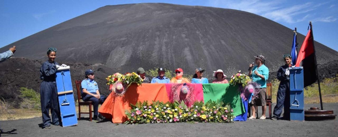 """INTUR realiza el relanzamiento de la """"Ruta de los Volcanes"""" desde el Cerro Negro"""