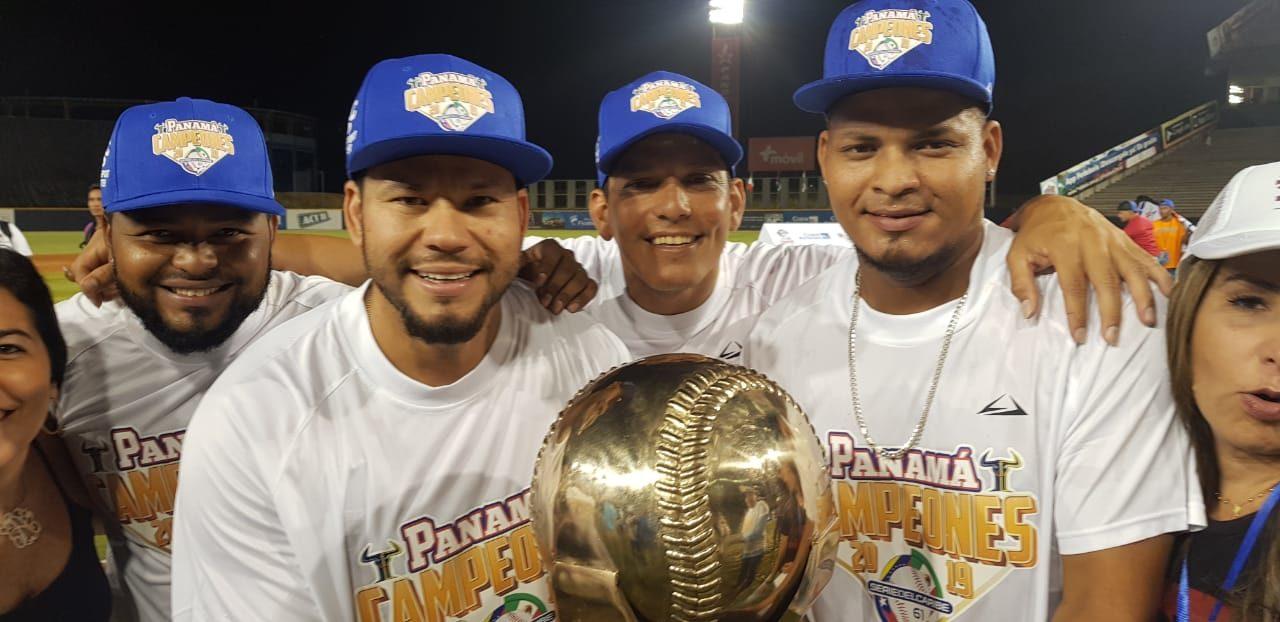 Jugadores nicaragüenses protagonistas del título de Panamá en la Serie del Caribe 2019