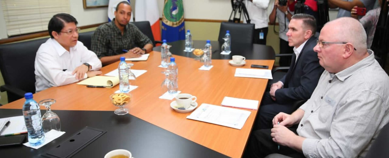 Canciller de Nicaragua sostuvo encuentro con delegación del partido Sinn Fein de Irlanda