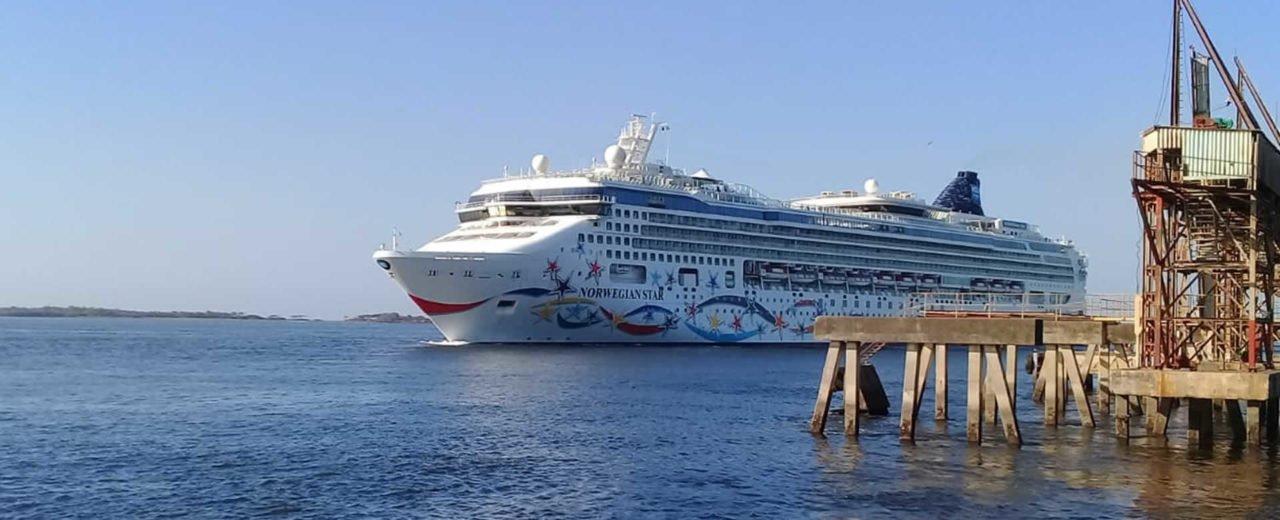Norwegian Star atraca en el rehabilitado Puerto Corinto-Chinandega