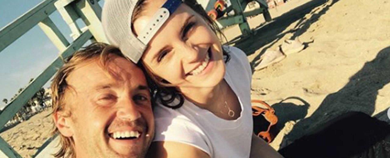 Emma Watson mantiene encuentros recurrentes con Felton de Harry Potter