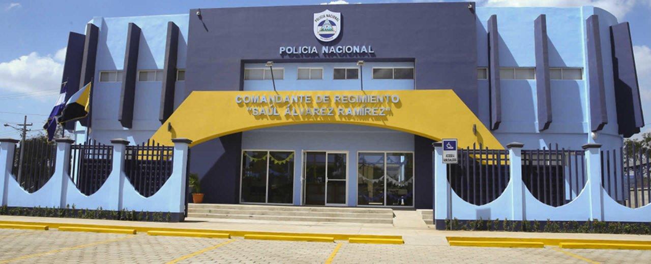 "Inauguran estación policial ""Comandante Saúl Álvarez Ramírez"" en San Rafael del Sur"