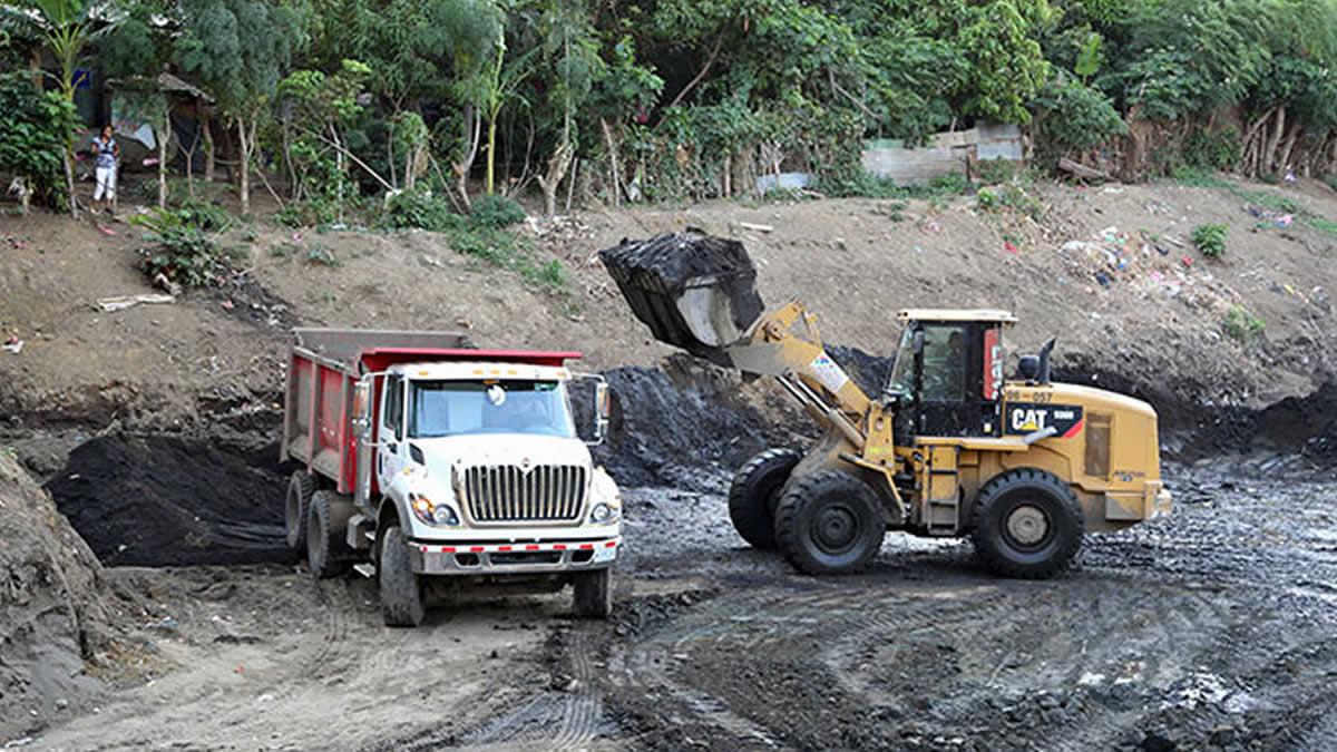 Alcaldía de Managua inicia mejora al Barrio Domitila Lugo de cara al invierno