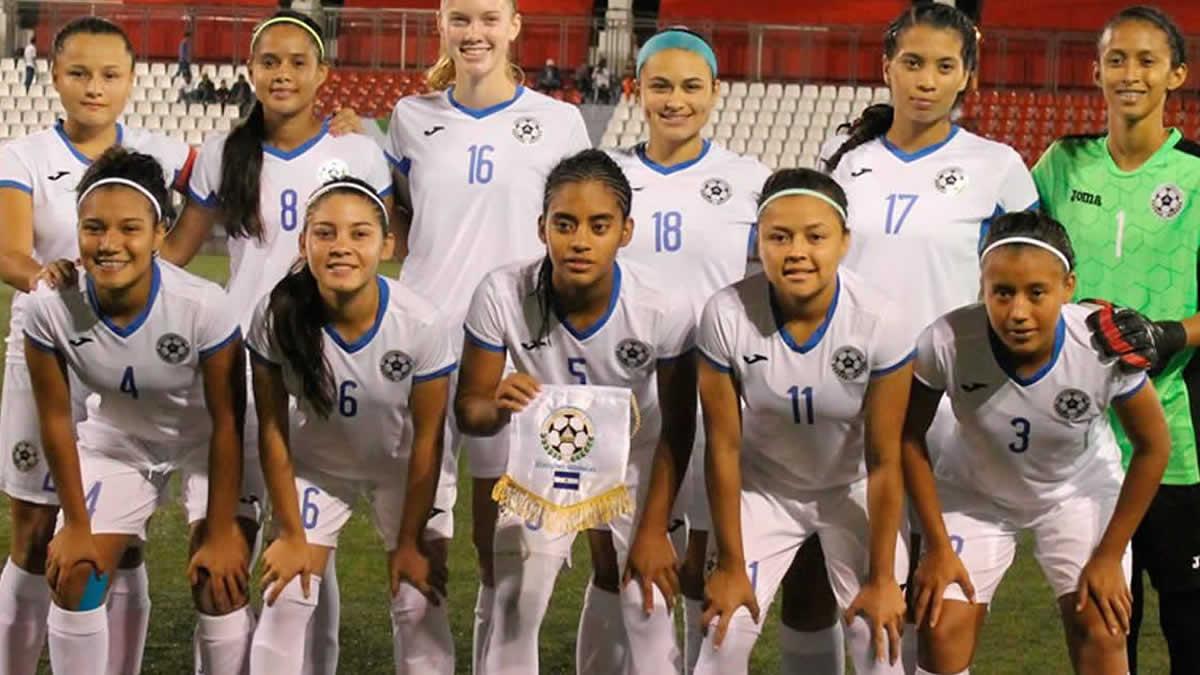 Equipo pinolero femenino U'16 busca clasificar en el Torneo Centroamericano de Fútbol