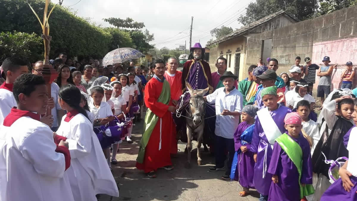 Domingo de Ramos: Belén, Rivas
