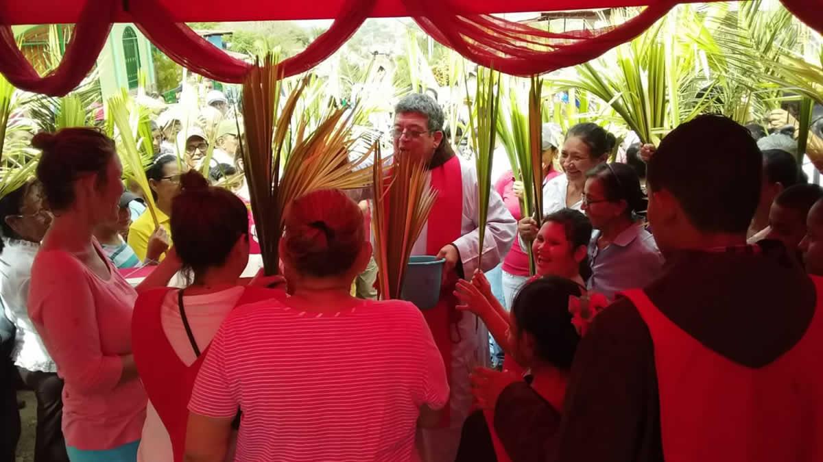 Domingo de Ramos: Juigalpa, Chontales