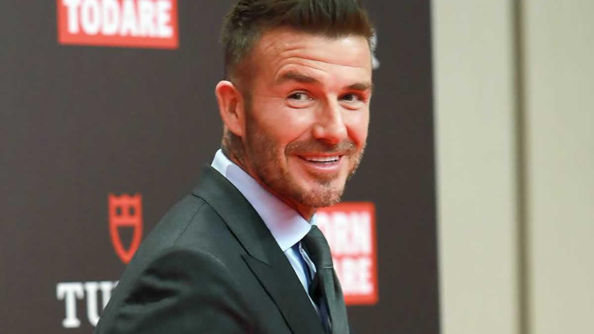 David Beckham no podrá conducir durante seis meses