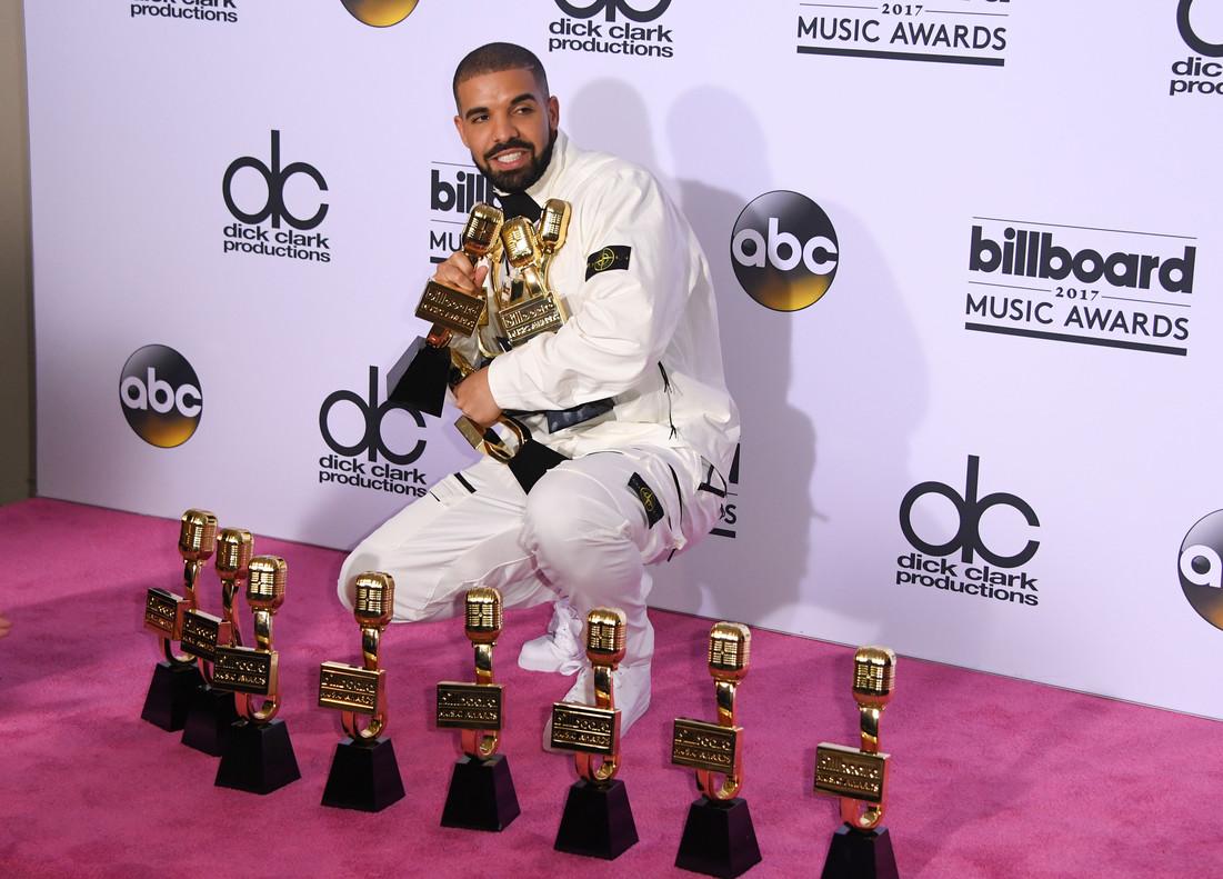 Drake se quedó con las categorías más importante en la entrega de los Billboard Music Awards