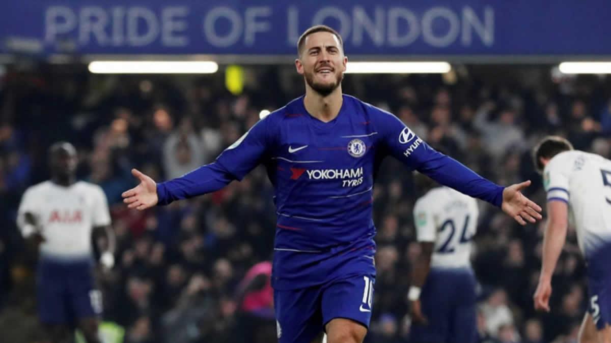 Eden Hazard, fichado por 100 millones de euros según L'Equipe