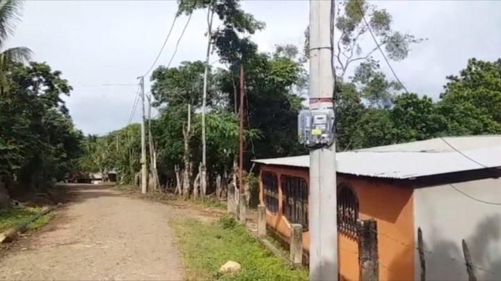 Energía eléctrica continúa llegando a las familias de La Libertad, Chontales