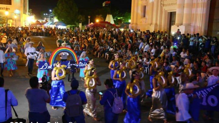 Festival azul Darío León