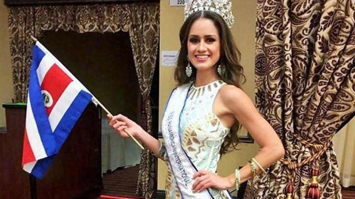 Miss de Costa Rica visita diferentes sitios turísticos de Nicaragua