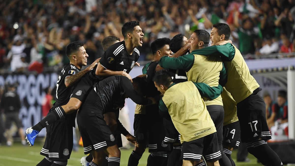 Selección Méxicana copa oro