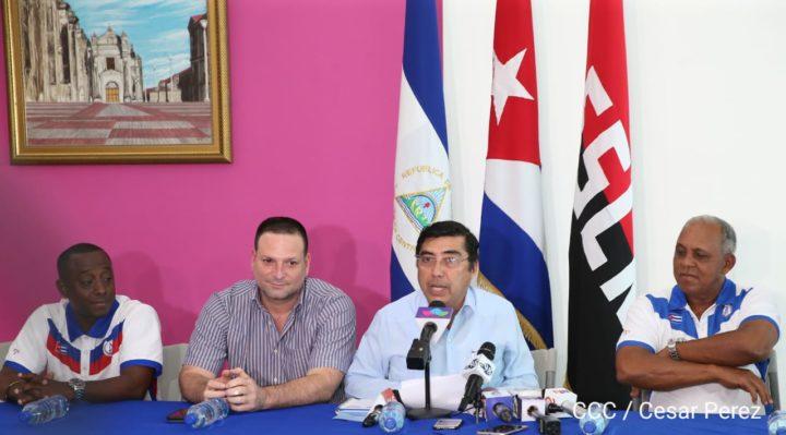 Selección cubana llega a Nicaragua para la Serie Internacional de Béisbol