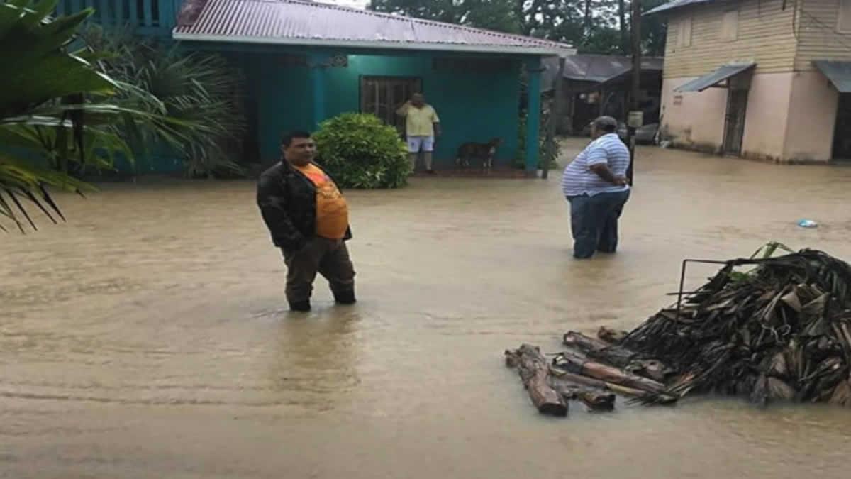 Bajas presiones atmosféricas producen lluvias en el territorio Nicaragüense