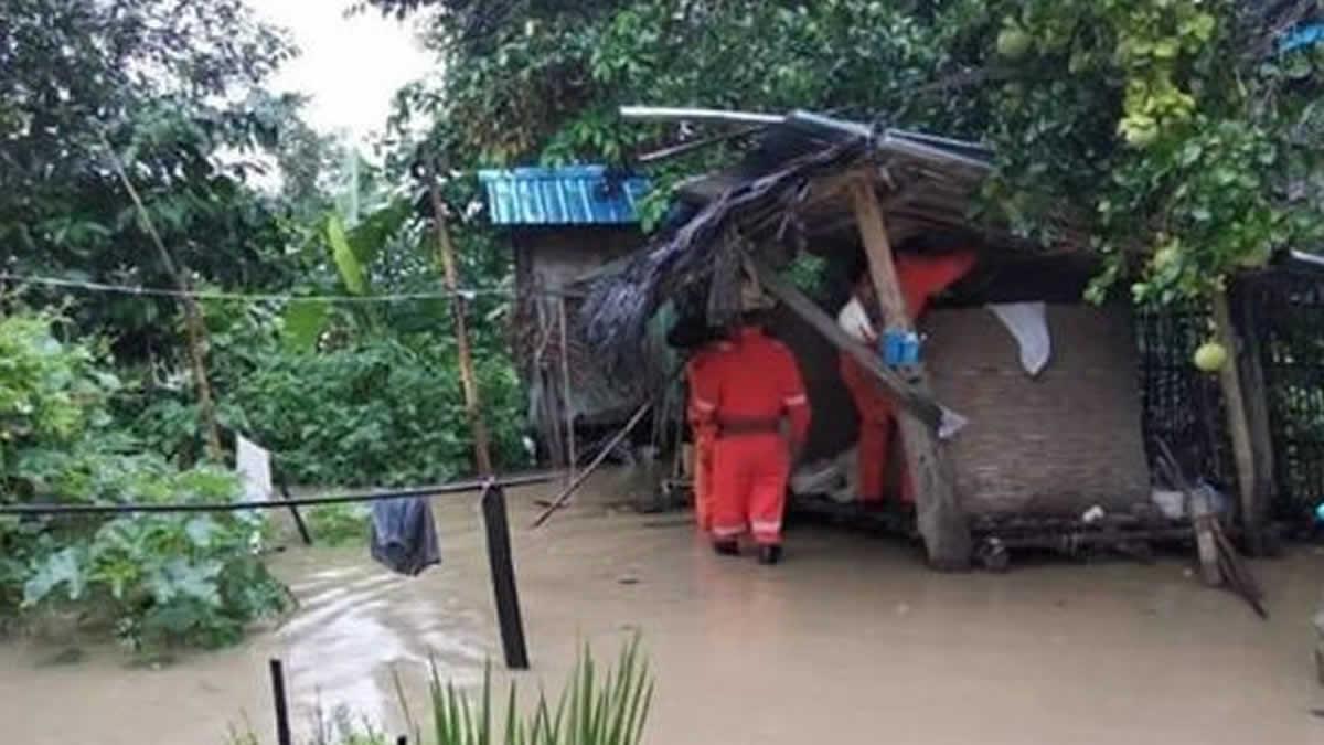 Deslizamiento de tierra por lluvias monzónicas dejó 34 muertos en Myanmar