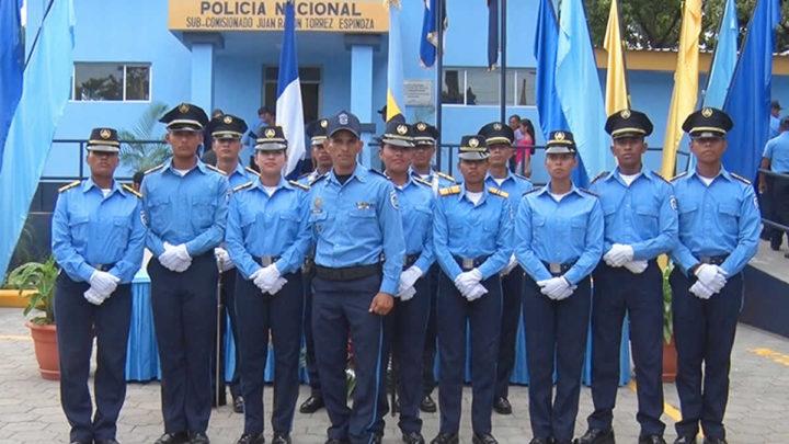 Inauguran Estación Policial en el municipio La Concepción, Masaya