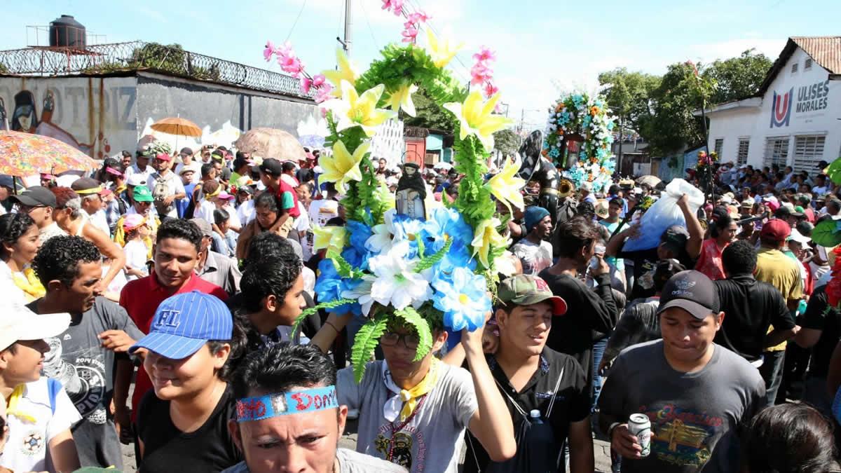 Inicia el retorno de Santo Domingo de Guzmán a las Sierritas de Managua