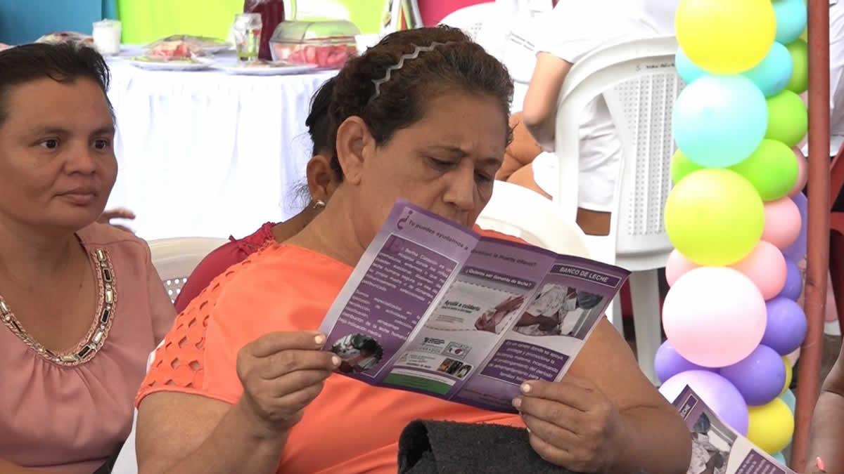 MINSA realiza jornada de Lactancia Materna en el Hospital Bertha Calderón