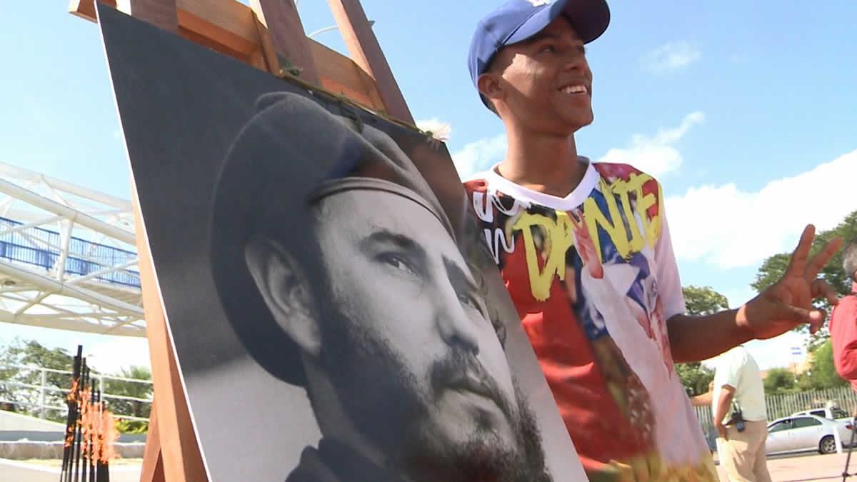 Nicaragüenses conmemoran el natalicio 93 del Comandante Fidel Castro