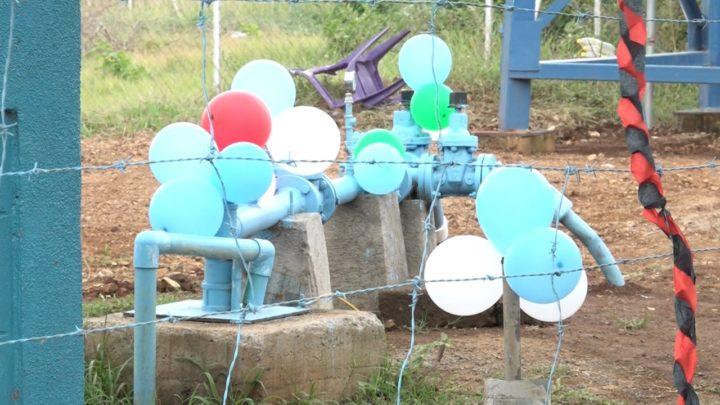 Pobladores Paraíso agua potable