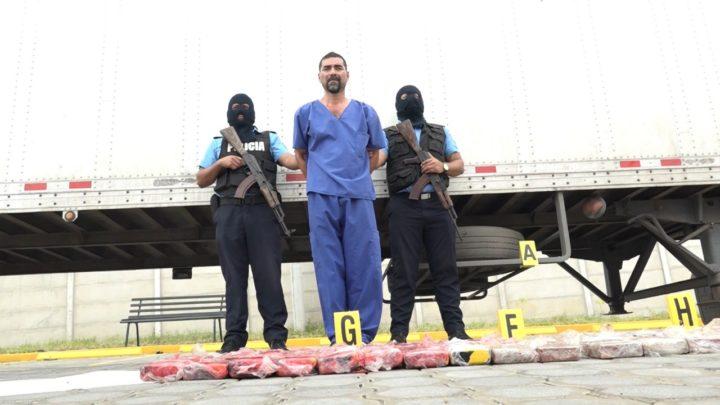 Policía cocaína Kilos Guasaule