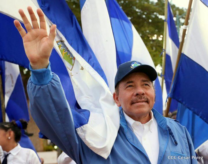 """Daniel: """"Decimos a todo pulmón, los pueblos centroamericanos queremos paz"""""""