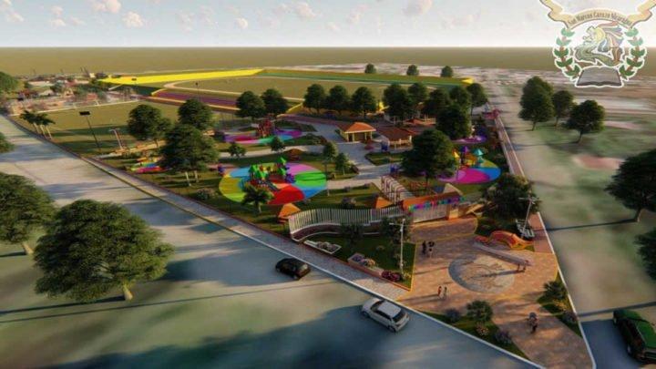 Alcaldía Marcos construcción parque familiar