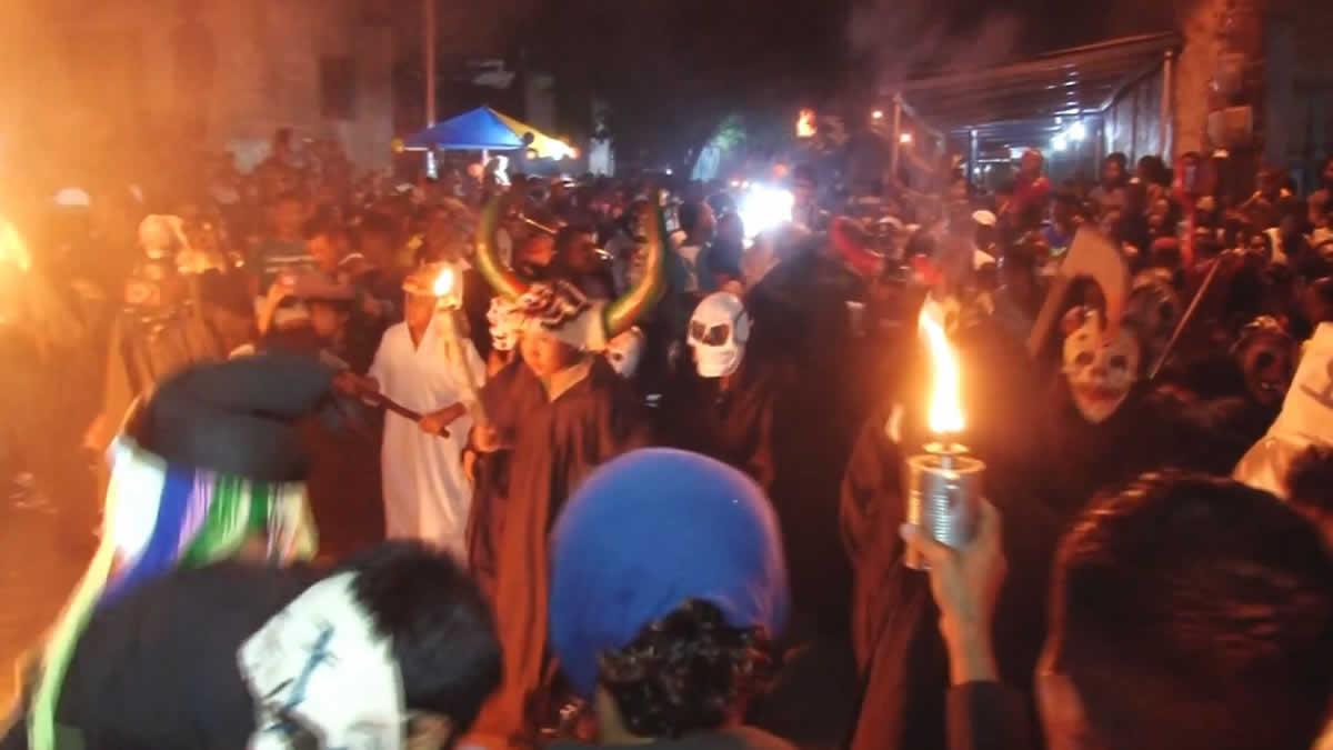 Masaya Tradicional procesión de Agüizotes llenarán las calles de terror