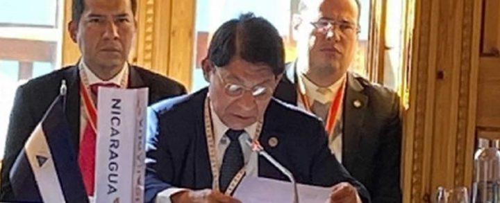 Denis Moncada ratifica los principios de Soberanía de los pueblos
