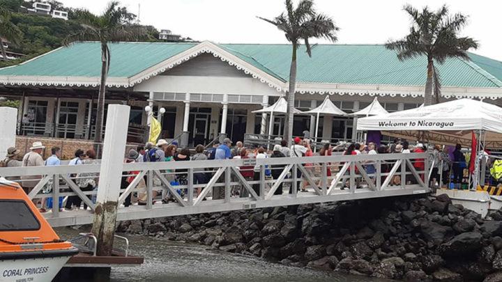 Crucero Coral Princesa arribó a San Juan del Sur