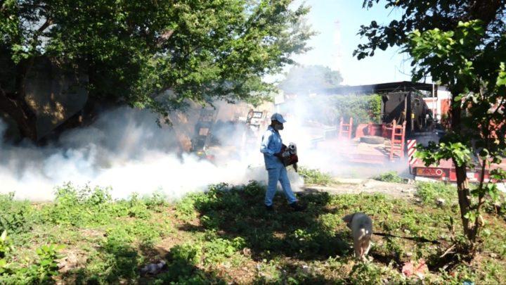 MINSA fumiga más de 600 viviendas del barrio Juan Emilio Menocal