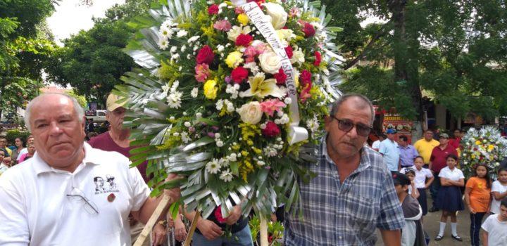 Masaya rinde homenaje al Comandante Carlos Fonseca Amador