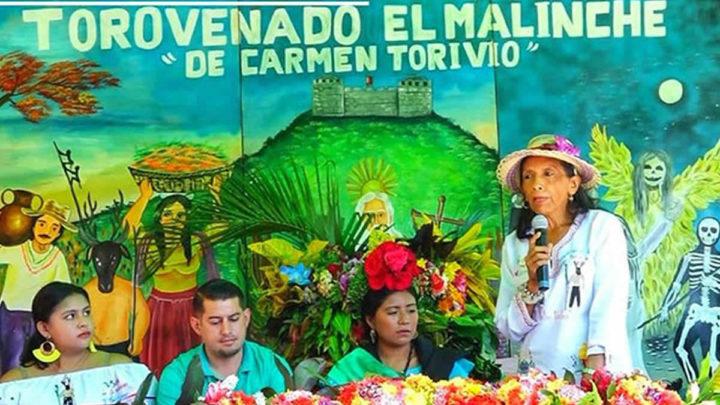 Torovenado El Malinche cortó su tradicional palo de acetuno