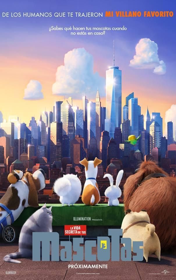 Cine Animado - The Secret Life of Pets