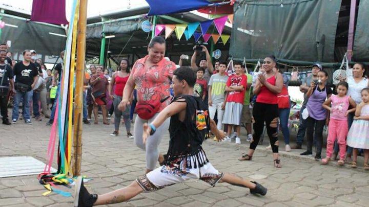Familias disfrutaron de bailes caribeños en el Parque Nacional de Ferias