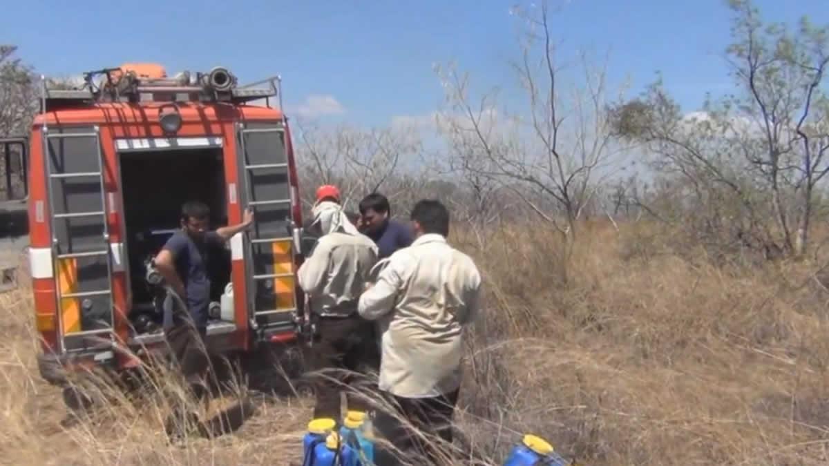 Autoridades evalúan efectividad del plan de incendios forestales, Managua