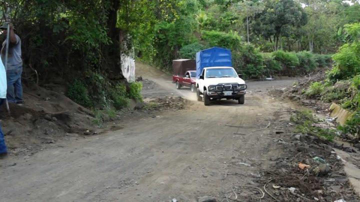 Gobierno elimina punto crítico en la comunidad Las Sabanitas, Masatepe
