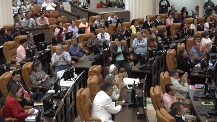 Diputados en la Asamblea Nacional.